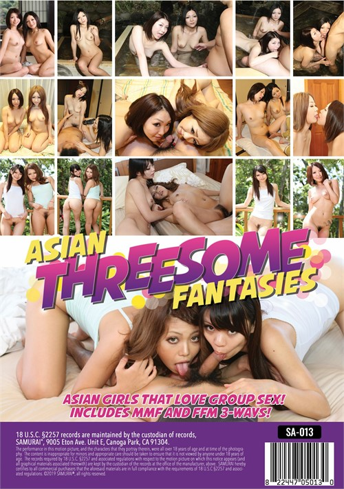 Asian threesome dvds