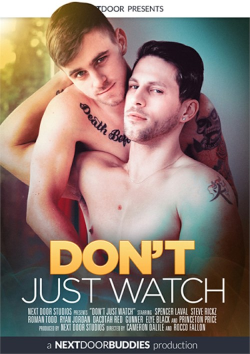 Dont Just Watch Cover Front