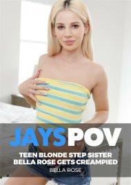 Teen Blonde Step Sister Bella Rose Gets Creampied image