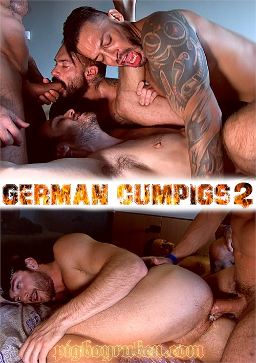 German Cumpigs 2 Boxcover