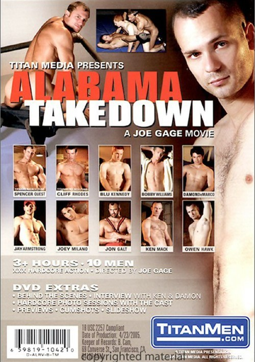 Alabama Takedown Cover Back