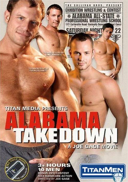Alabama Takedown Cover Front