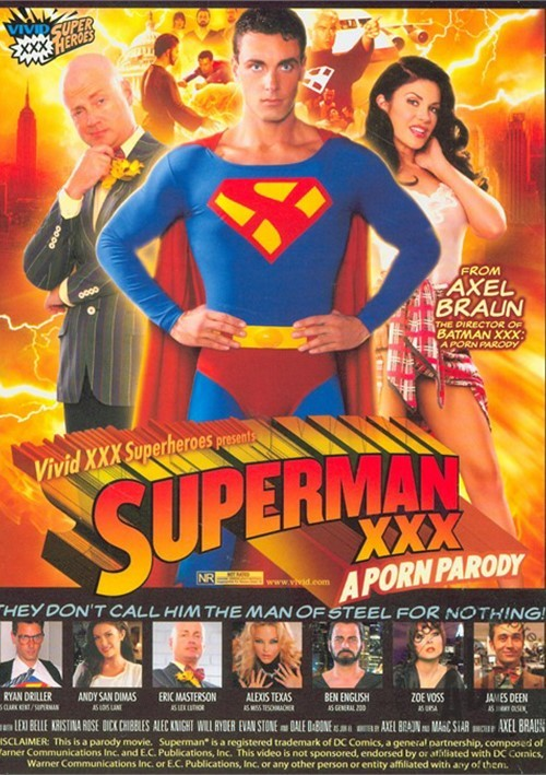 Superman XXX A Porn Parody (2010) | Adult DVD Empire