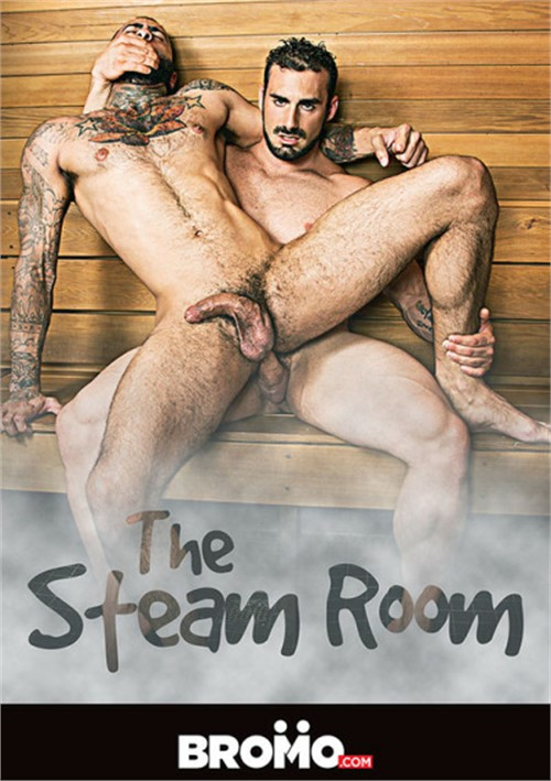 Gay sex in the steam room