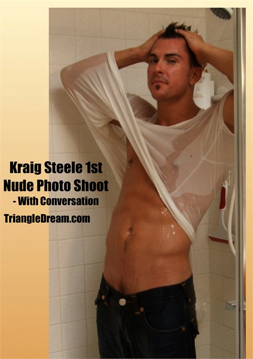 Kraig Steele 1st Nude Photo Shoot - with Conversation Boxcover