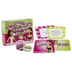 Flip & Sip Truth or Dare Card Game