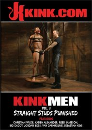 Kink Men #3: Straight Studs Punished gay porn DVD from Kink.