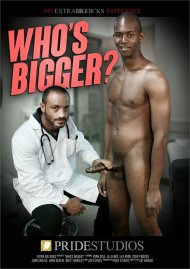 Who's Bigger? HD gay porn streaming video from Pride Studios.