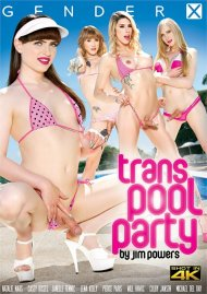 Trans Pool Party Porn Video