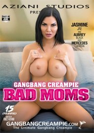 Gangbang Creampie: Bad Moms Porn Video