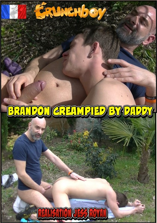 Brandon Creampied by Daddy Boxcover