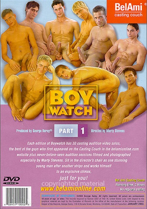 Boy Watch 1 Cover Back