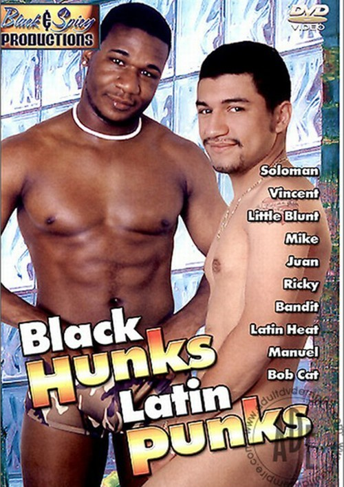 Black Hunks Latin Punks Boxcover