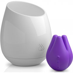 JimmyJane: Pure UV Sanitizing Mood Light with Tre Love Pod Vibe - Purple Sex Toy
