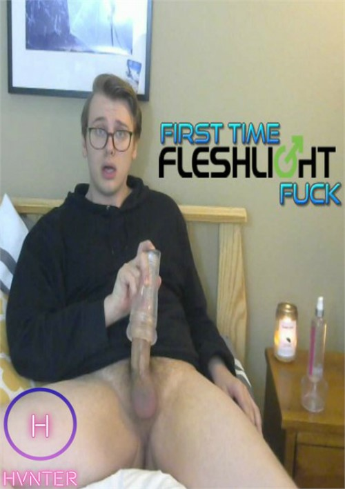 First Time Fleshlight Fuck Boxcover