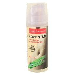Intimate Organics: Adventure - Fresh Orange Anal Relaxing Gel - 1 oz.
