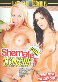 Shemale Cum Donors 5 Porn Video