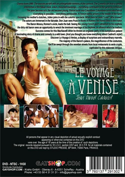 Le Voyage a Venise Cover Back