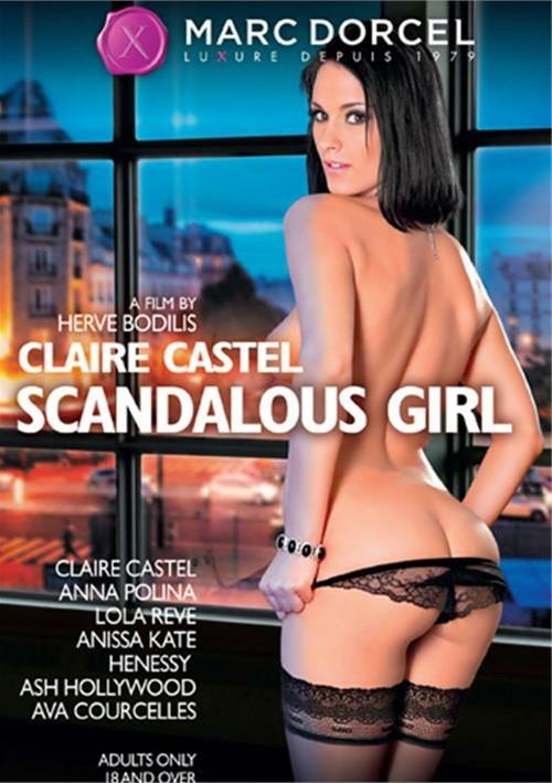 Claire Castel Scandalous Girl 2014  Adult Dvd Empire-6413