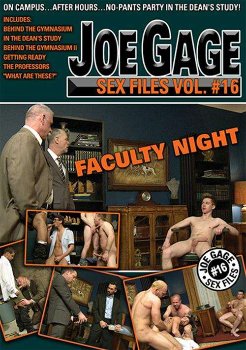 Joe Gage Sex Files 16: Faculty Night Boxcover