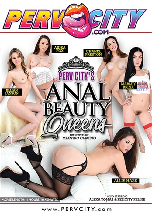 Perv City's Anal Beauty Queens Boxcover