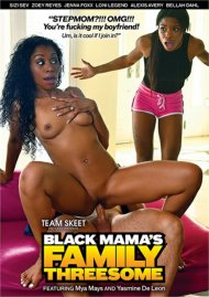 Black Mama's Family Threesome image