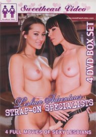 Lesbian Adventures: Strap-On Specialists 4-Pack