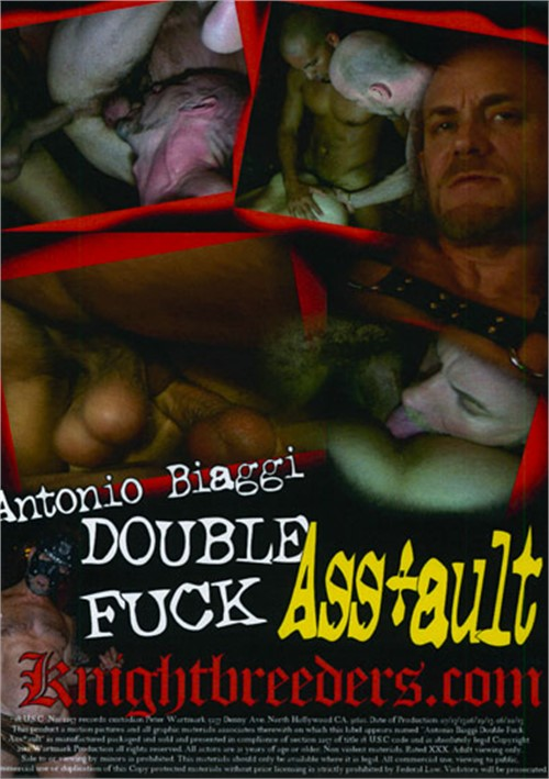 Antonio Biaggi Double Fuck Ass-ault Cover Back