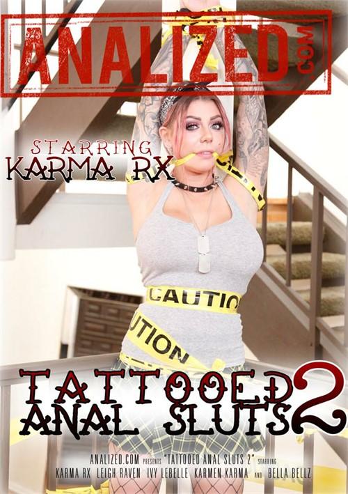 Karma RX & more stars in Tattooed Anal Sluts 2 DVD porn movie.