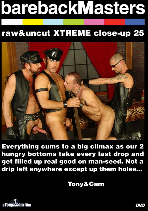 Bareback Masters: Raw & Uncut Xtreme Close-Up 25 Boxcover