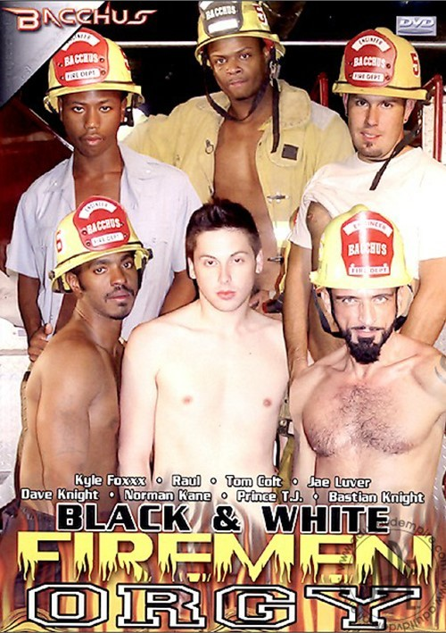 Black & White Firemen Orgy Boxcover