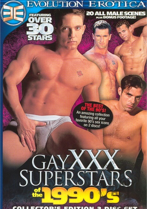 Gay XXX Superstars Of The 1990's Boxcover
