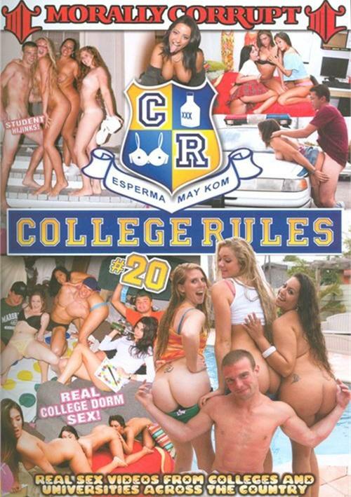College regels sex video