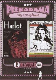 Peekarama: Harlot / Tijuana Blue porn DVD from Vinegar Syndrome.