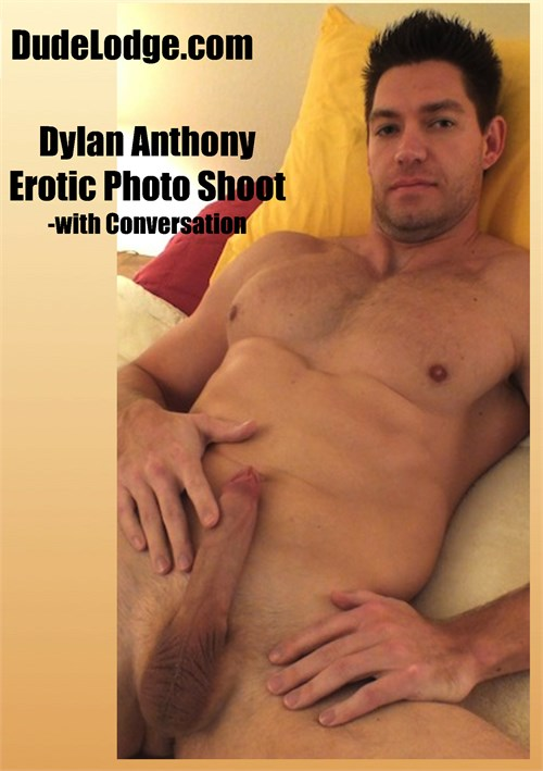 Dylan Anthony Erotic Photo Shoot - with Conversation Boxcover