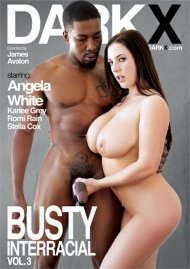 Busty Interracial Vol. 3 porn DVD from DarkX.