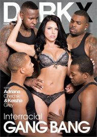 Interracial Gang Bang Porn Movie