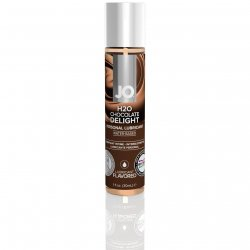 Jo H2o Chocolate Delight Flavored Lube - 1oz Sex Toy