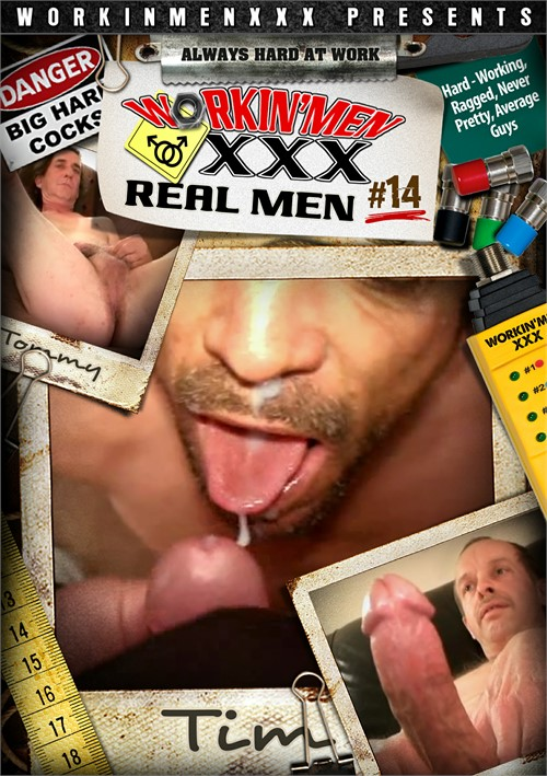 Real Men 14 Boxcover