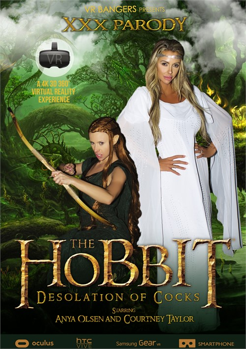 Hobbit, The: Desolation of Cocks Boxcover