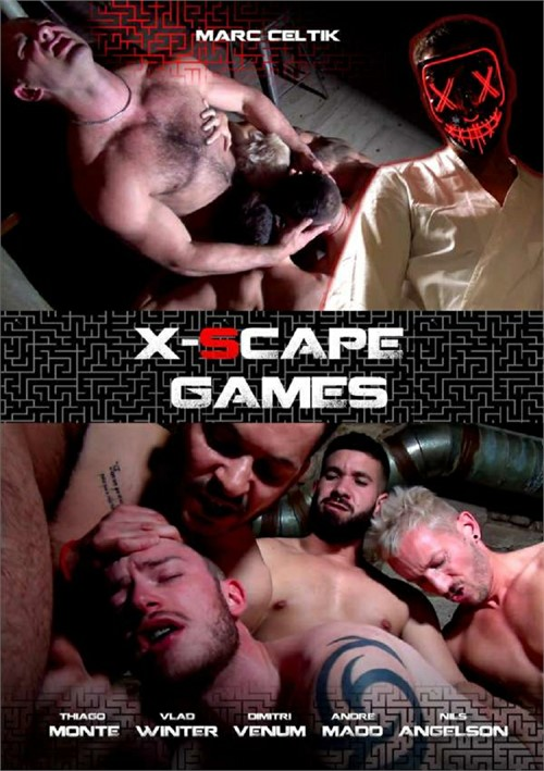 X-Scape Games Cover Back