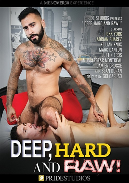 Deep Hard and Raw Cover Front