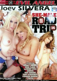 Joey Silvera's Big Ass She-Male Road Trip 14 Porn Video