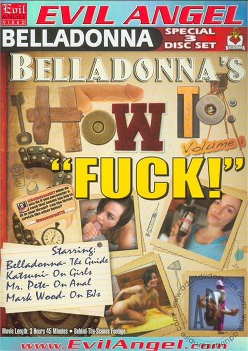 Belladonna's How To: