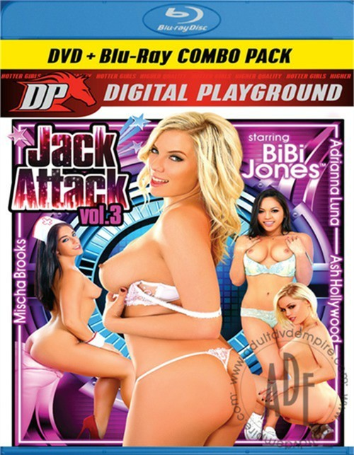 Jack Attack Vol. 3 (DVD + Blu-ray Combo)