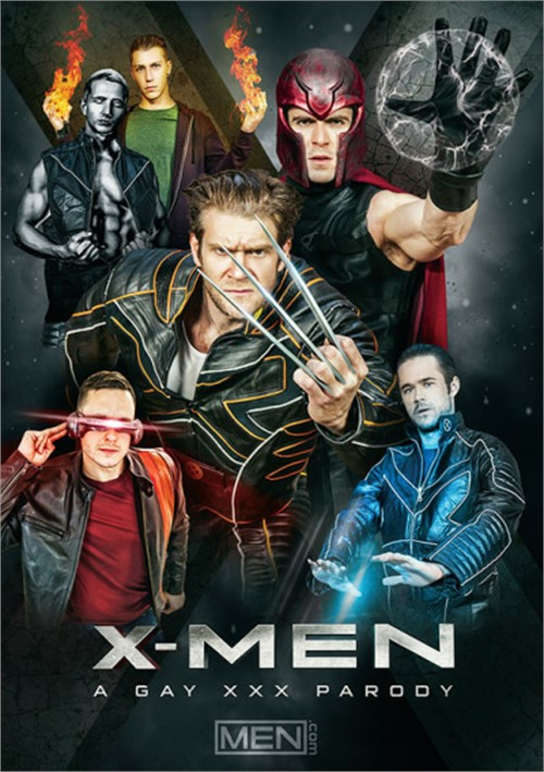 X-Men A Gay XXX Parody Cover Front