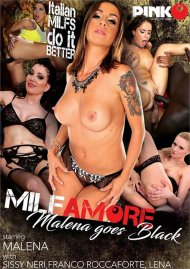 MILF Amore: Malena Goes Black Porn Video