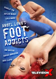 Angel Long's Foot Addicts Porn Video