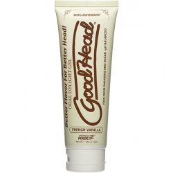 GoodHead Oral Delight French Vanilla Gel - 4 oz. Sex Toy