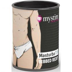 Mystim MasturbaTIN Ribbed Ricky - Lemalla Sex Toy